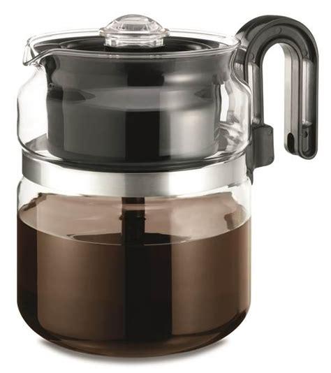 Amazon.com: Medelco 8 Cup Glass Stovetop Percolator: Electric Coffee Percolators: Kitchen & Dining