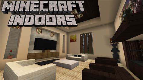 how to make a living room in minecraft pe minecraft indoors contemporary living room s2e1