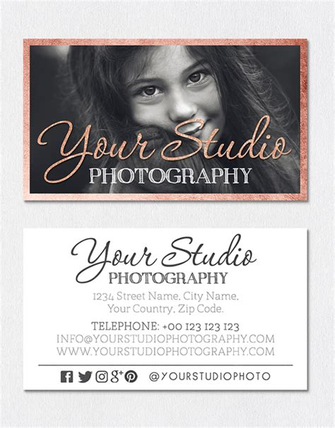 Vintage Photography Business Card Templates by Creative Business Card Psd Templates 26 New Design