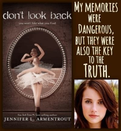 don t look between the leaves books don t look back by l armentrout reviews