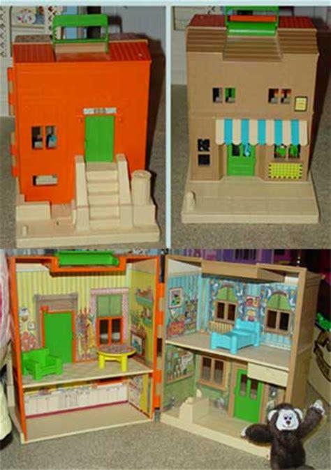 sesame street doll house kay and lyn