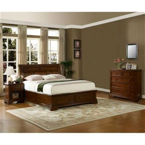 bedroom sets costco costco bennington 4 piece queen storage bedroom set
