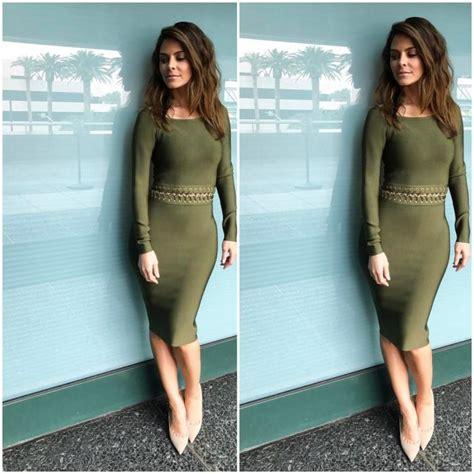 Maira Dress Cb splurge menounos s instagram 209 house of cb