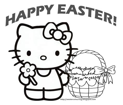 hello kitty easter coloring pages hello kitty forever