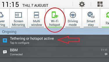 Pasang Wifi Portable Cara Pasang Dan Ganti Nama Password Hotspot Wifi Samsung Iskcon Info