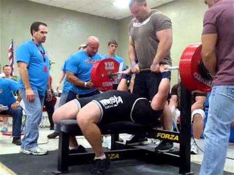 raw bench press world record jeremy hoornstra all time world record 242 raw bench