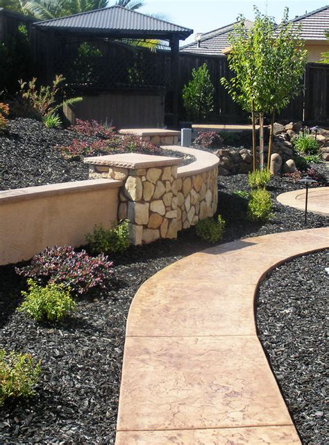 backyard wall 20 rock garden ideas that will put your backyard on the map