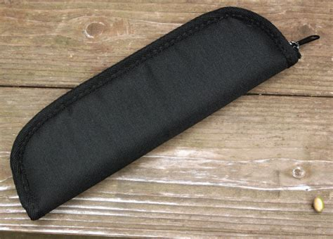 zippered knife pouch oversized custom zippered knife pouch with ballistic cloth