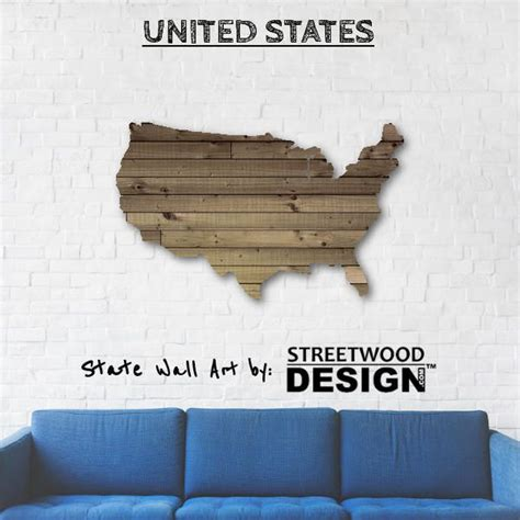 united states wood sign wood signs handmade wall decor