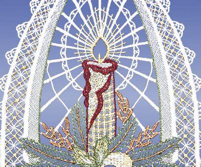 Weihnachtsdeko Fenster Günstig Kaufen by Fensterbilder Plauener Spitze Weihnachten Glocke G 252 Nstig