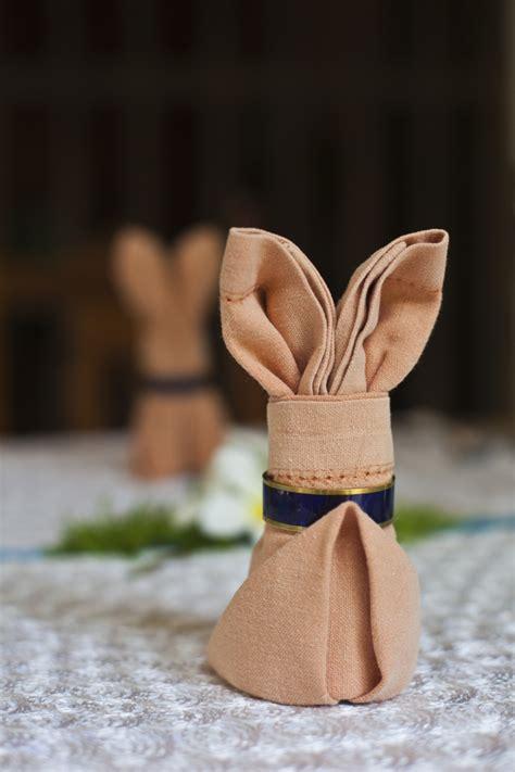 Easy Napkin Origami - easy napkin origami for a formal table napkin origami