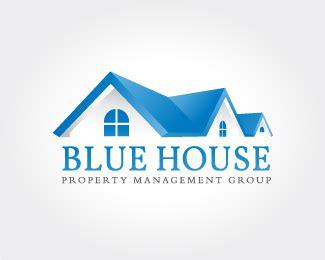 Blue House Property Management Designed by MasterLogo