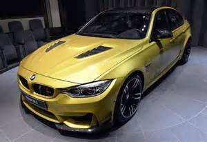 Yellow Bmw Gallery Yellow Bmw M3 Goes Custom