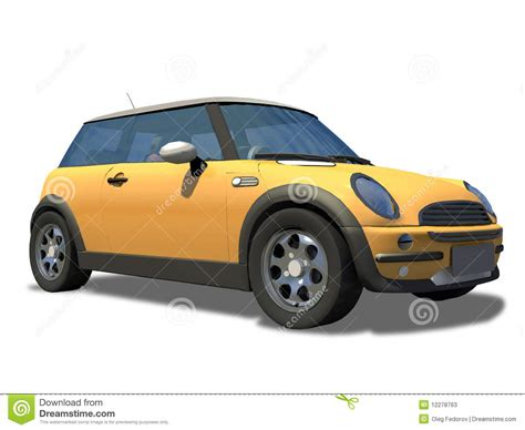 compact sports compact little sports car on background stock photos