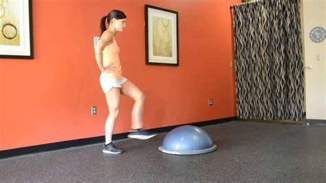 boat pose bosu bosu ball circuit workout youtube