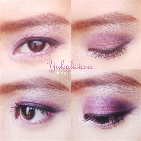 Eyeshadow Aubeau yukalicious review swatch eyeshadow from la tulipe