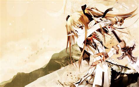 wallpaper anime girl warrior wallpaper warrior girl anime 1920 x 1200 anime manga
