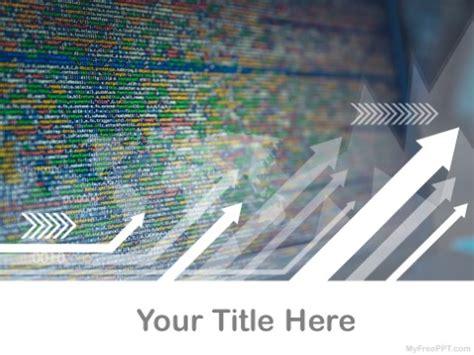 Free Futuristic Powerpoint Templates Myfreeppt Com Hackers Website Template