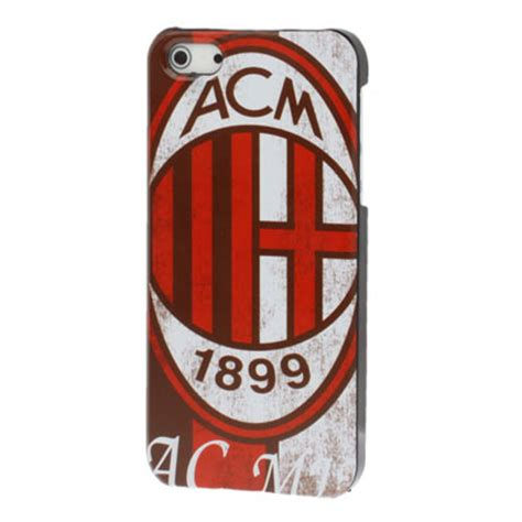 Ac Milan Iphone 5 5s ac milan football club style plastic for iphone 5 5s