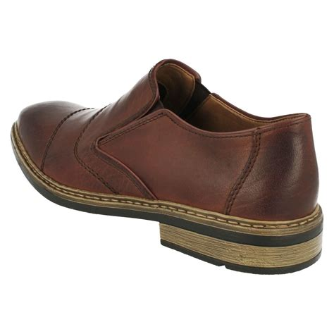 mens rieker slip on shoes b1260 ebay