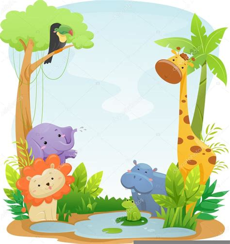 Safari Animal Clipart