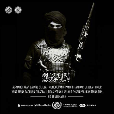 sunnah poster panji panji hitam dari khurasan pasukan