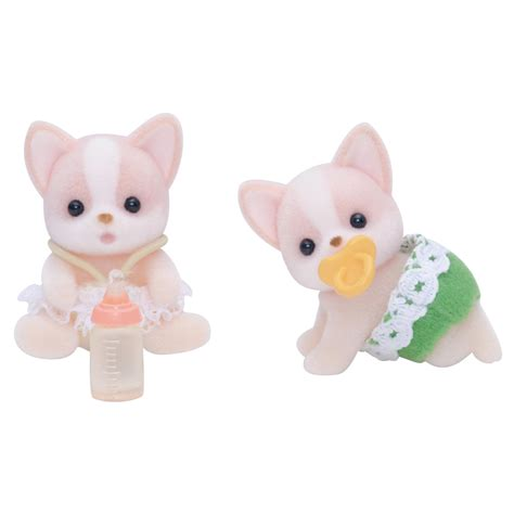 sylvanian families chihuahua babies 163 8 00 hamleys for toys and