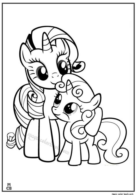 coloring pages my pretty pony 29 best my little pony coloring pages free online images