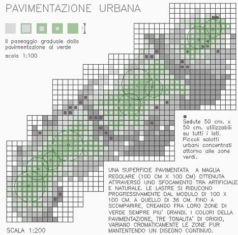arredo urbano dwg pavimentazioni urbane piazze urbane dwg