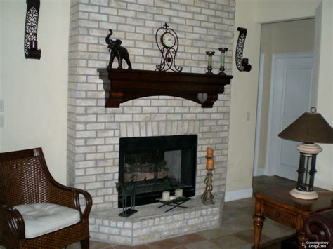 floor charcoal brick fireplace painted charcoal brick fireplace fireplaces