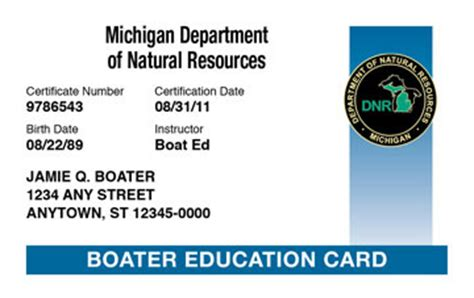 boating license nj age michigan boating license boat safety course boat ed 174