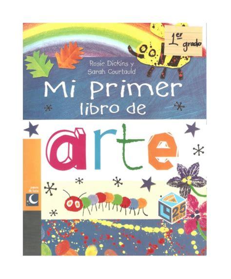 mi primer libro de 8467720336 mi primer libro de arte
