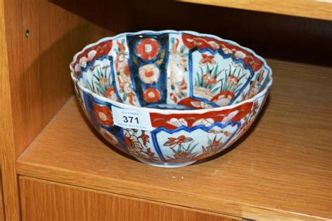 japanese pattern bowl old japanese imari pattern bowl 20cm d