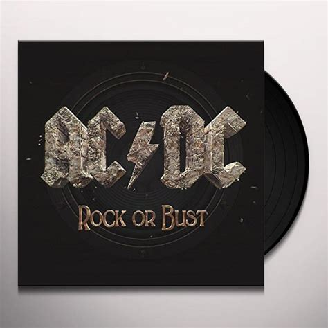 dc vinyl records ac dc rock or bust vinyl record