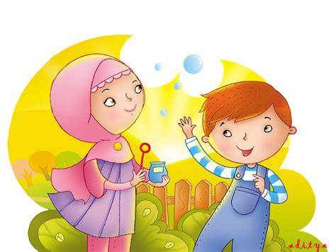 gambar animasi bergerak anak muslim republika rss