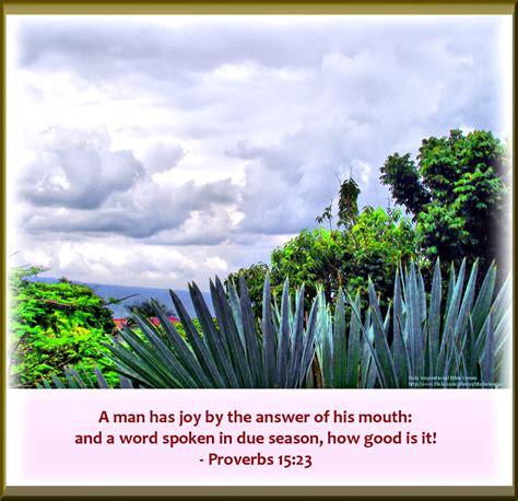 daily inspirational bible verse proverbs  kjv flickr