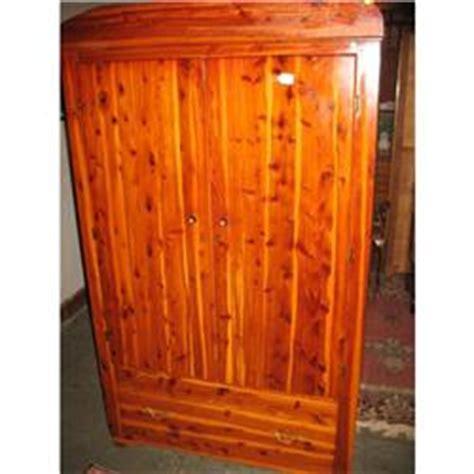 cedar armoire wardrobe cedar armoire wardrobe 1940 s 2170119