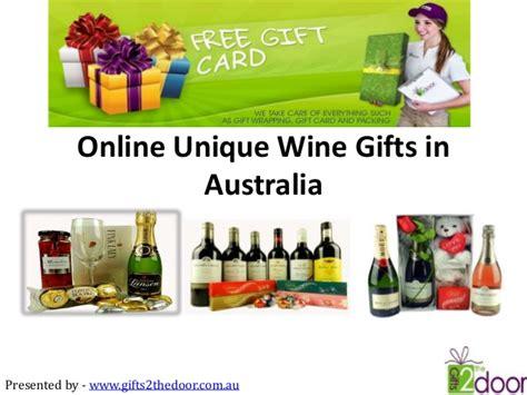 gifts 2 the door offers online unique wine gifts in australia