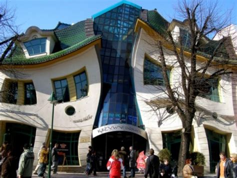 crooked house in sopot poland is like a children s book the crooked house sopot poland