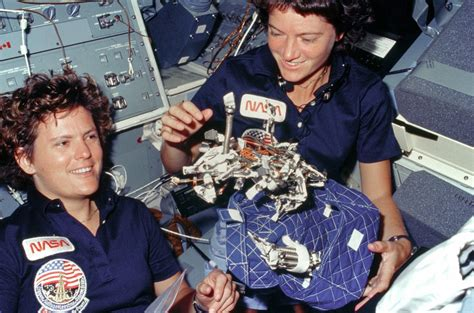 Of Invention Yudit M Handbags Wwd by Scientists And Astronauts Pay Tribute To Sally Ride