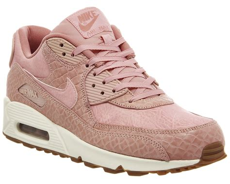 nike air max  pink glaze basket weave gum  trainers