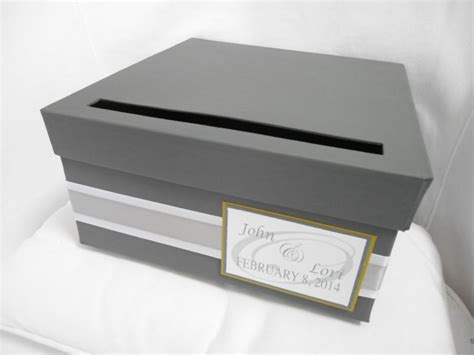 Handmade Card Box - wedding card box custom wedding reception gift card holder