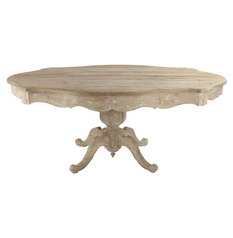 Antique Pedestal Dining Table N A