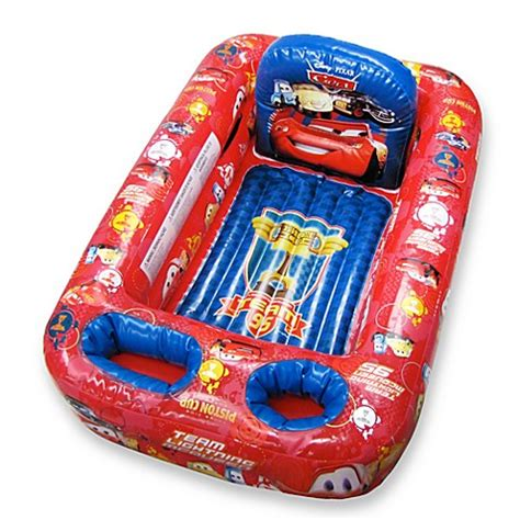 cars inflatable bathtub ginsey disney 174 pixar cars inflatable bathtub bedbathandbeyond com