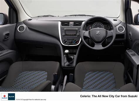 Interior Celerio by 2015 Suzuki Celerio Interior Indian Autos