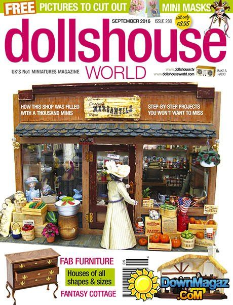 dolls house world magazine dolls house world september 2016 187 download pdf magazines magazines commumity