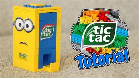 Tictac Minion how to build a lego minion tic tac machine
