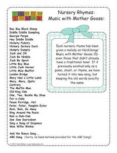 28 nursery rhymes with words and movements for active learning