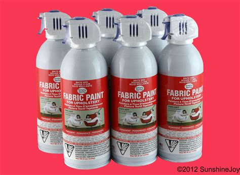 Fabric Spray Paint For by Upholstery Fabric Spray Paint 6 Pack Bright Auto