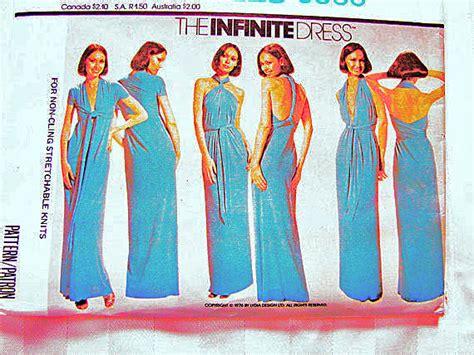 infinity dress pattern 1970s mccalls infinity dress pattern womens wrap dress pattern
